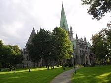 Nidaros cathedral - northernmost medieval cathedral in Europe (Trondheim)