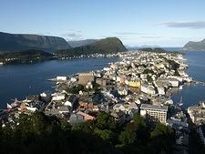 Ålesund from Aksla viewpoint