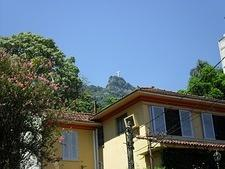 View of Christ the Redeemer (from near Estação Cosme Velho)
